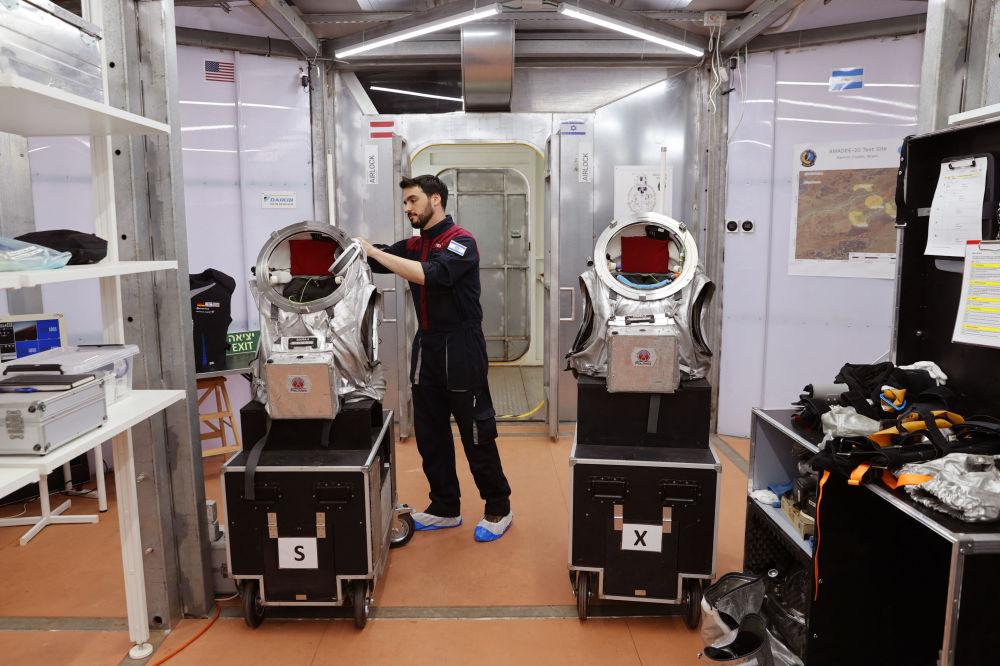 AMADEE-20模拟火星探险任务