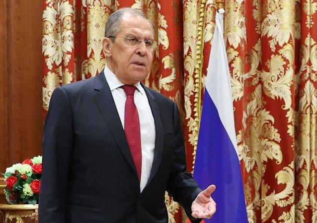俄外長拉夫羅夫
