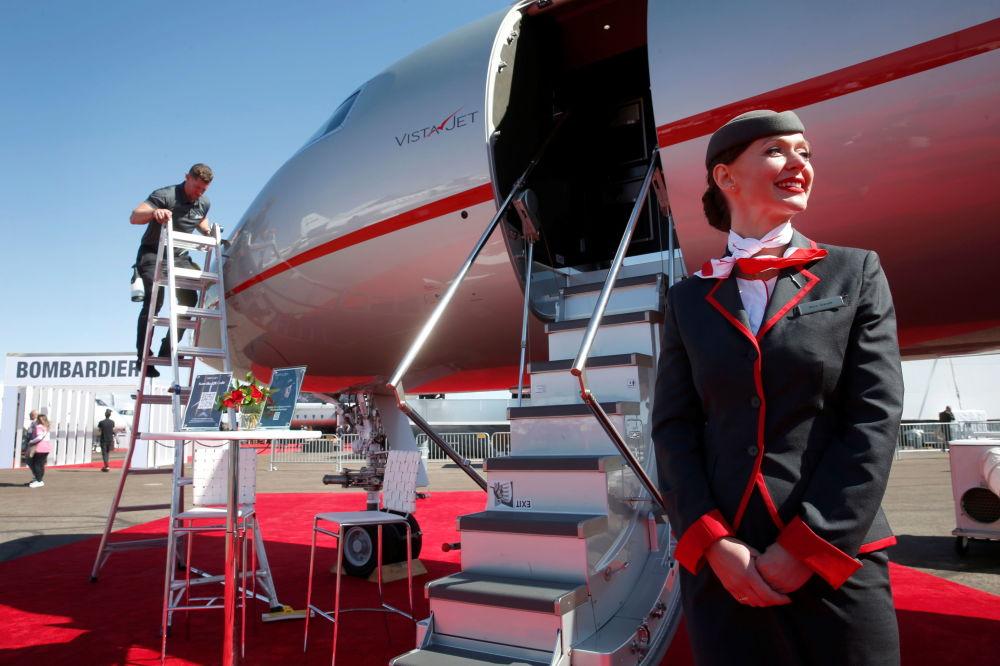 全球最大的公務機展在美國開幕