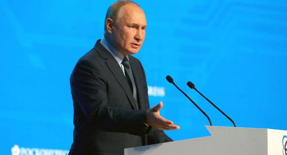 普京:俄罗斯期望2035年前占据全球液化天然气市场的20%
