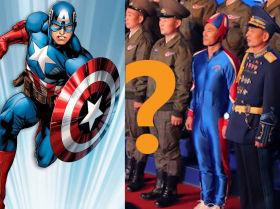 """朝鲜队长?什么样的超级士兵出现在了""""自卫-2021""""武器展的照片中?"""