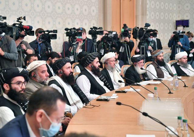 塔利班称莫斯科模式会议后参加三方扩大会议