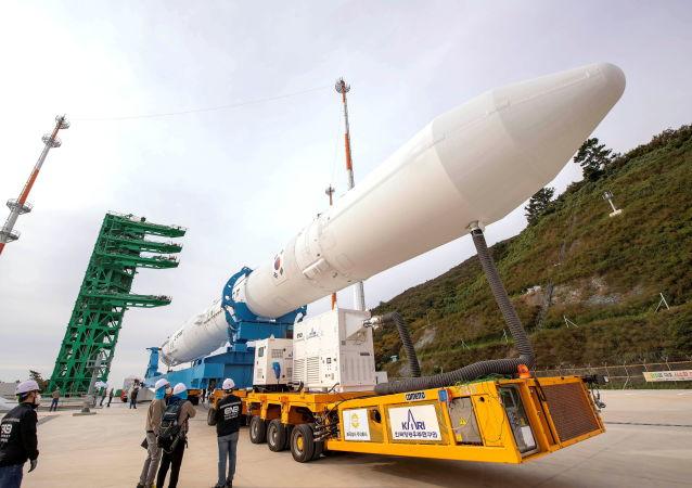 韓媒:韓國宣佈「世界「號運載火箭圓滿完成飛行