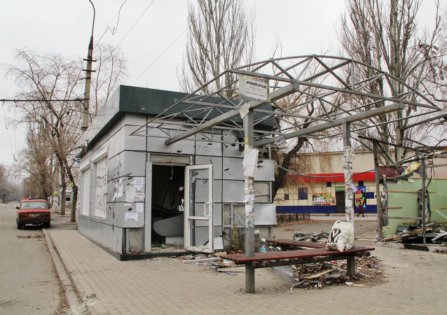 顿涅茨克人民共和国紧急情况部:顿涅茨克公交车站炮击造成9人死亡10人受伤