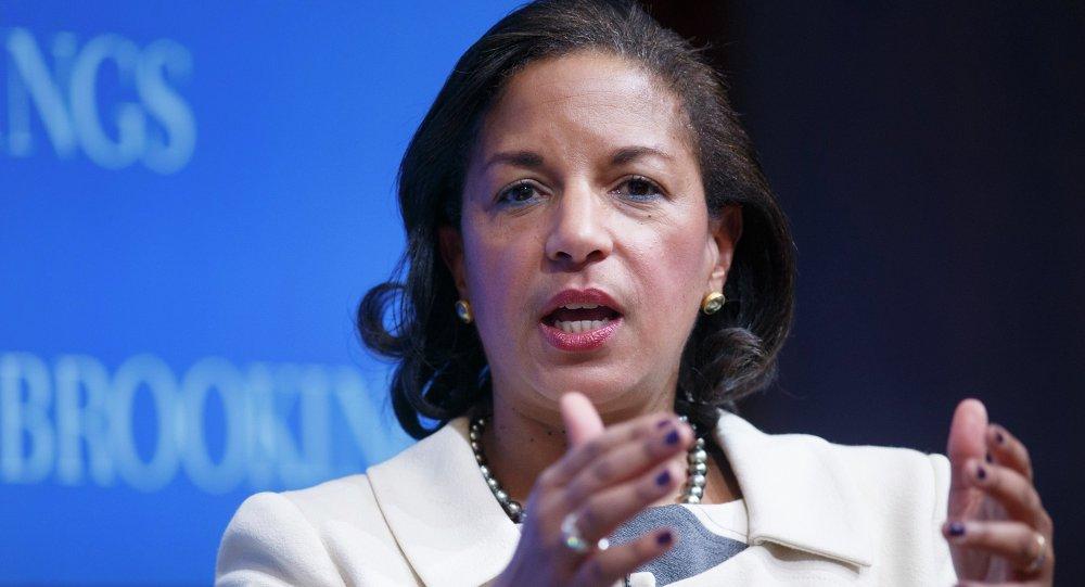 美国总统国家安全事务顾问苏珊•赖斯