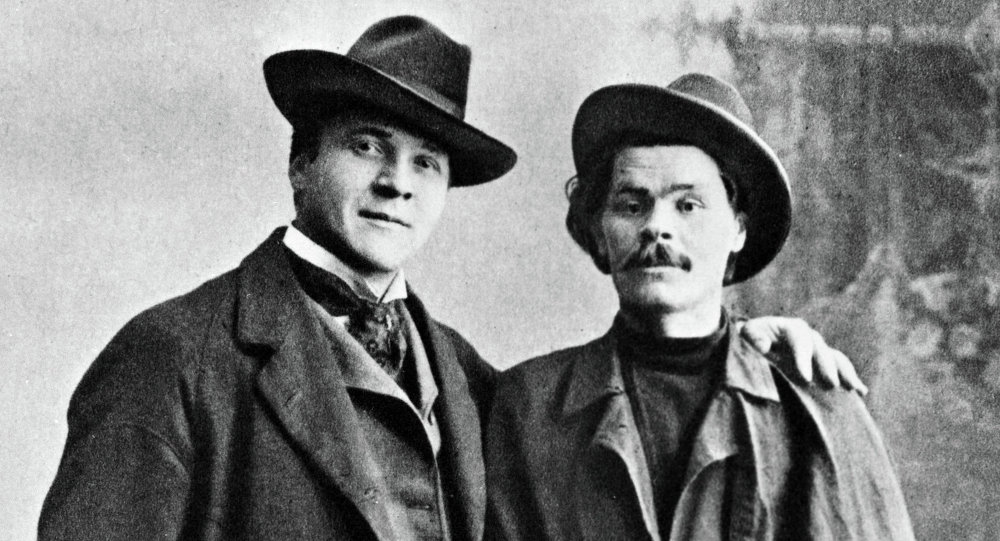 菲奥多尔·沙利亚平和马克西姆 ·高尔基