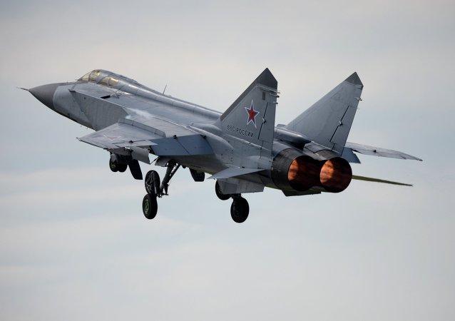 俄罗斯米格-31战斗机