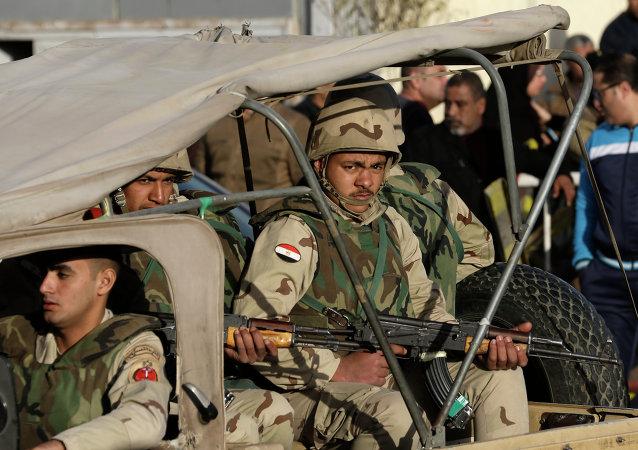 埃及军队宣布实施特别行动消灭126名恐怖分子