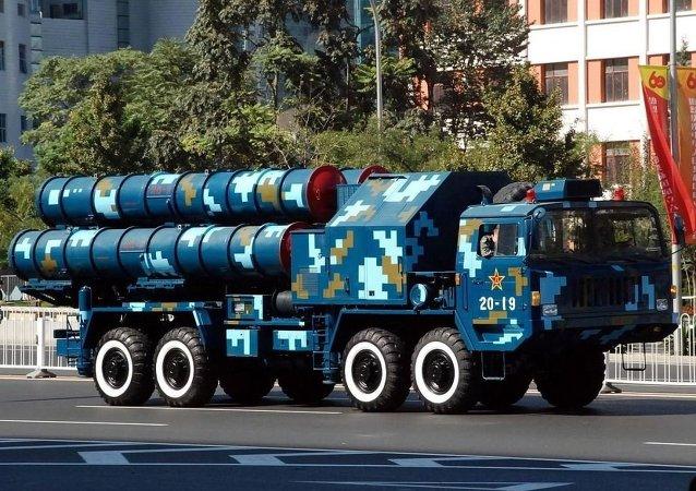 红旗-9防空导弹 资料图