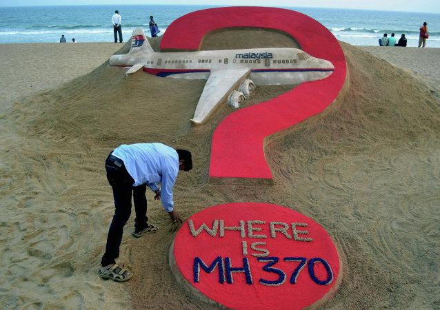谷歌地图上发现失联飞机MH370
