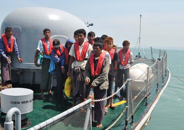 緬甸渡輪沈沒導致33人遇難