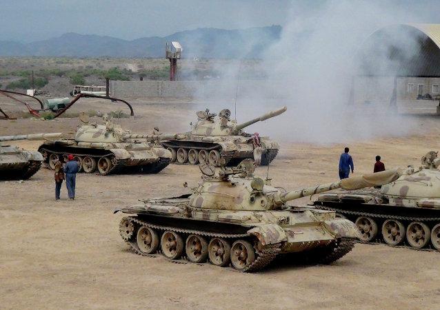 也门亲政府部队收复了亚丁国际机场