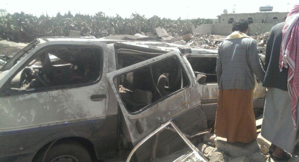 信息:20余人在联盟空袭也门市场时死亡