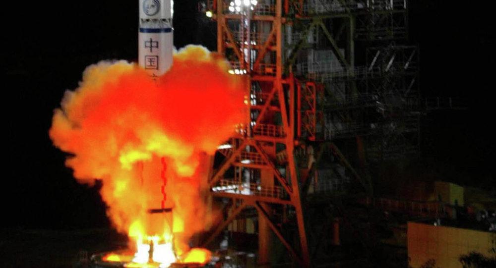 中国成功向轨道发射了北斗导航系统卫星