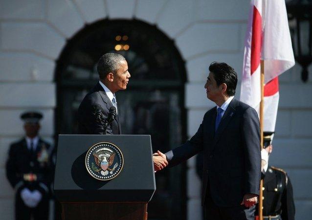 美國正在鼓動日本與中國在南海「玩遊戲」