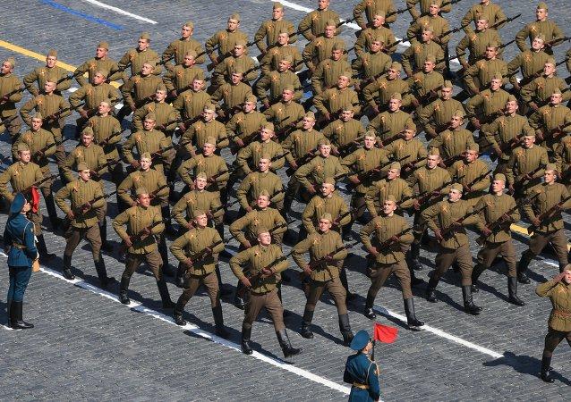 纪念伟大卫国战争(1941-1945)胜利70周年阅兵