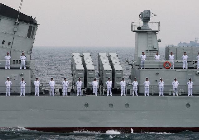 俄中海军舰艇即将开赴地中海