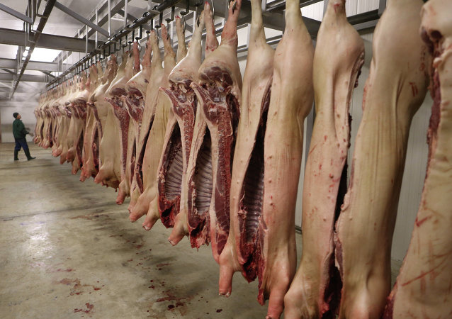 中国肉类产品市场上巴西将是俄主要竞争对手