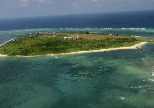 菲律賓抗議中國在南海中業島附近的「非法」存在