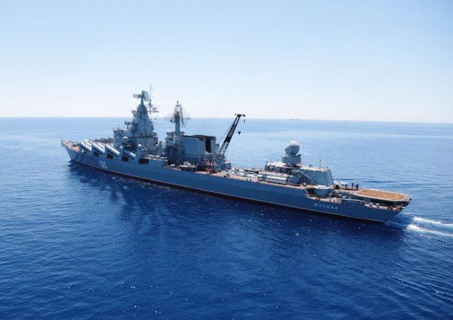 俄海軍5艘艦艇在地中海演習中擊退假想敵空中進攻