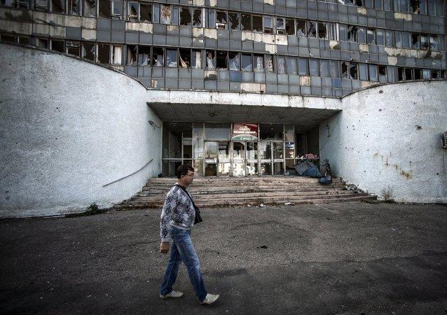 盧甘斯克領導人:如有助於衝突解決願與烏克蘭反對派談判