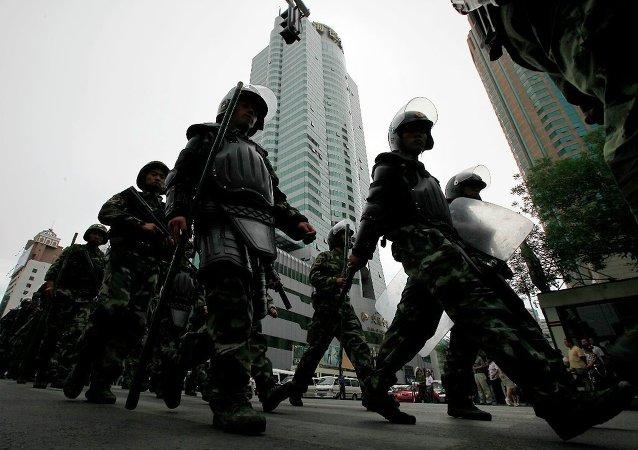 中國進一步加大反恐力度
