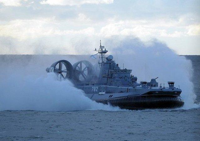 """""""莫尔多瓦""""号气垫登陆舰"""