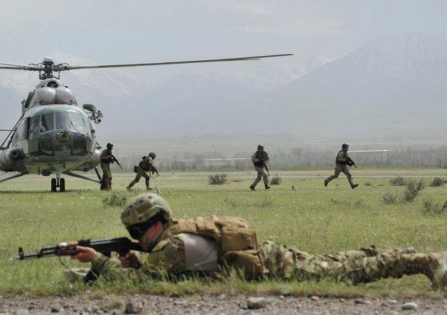 印巴军队首次参加上合组织反恐演习