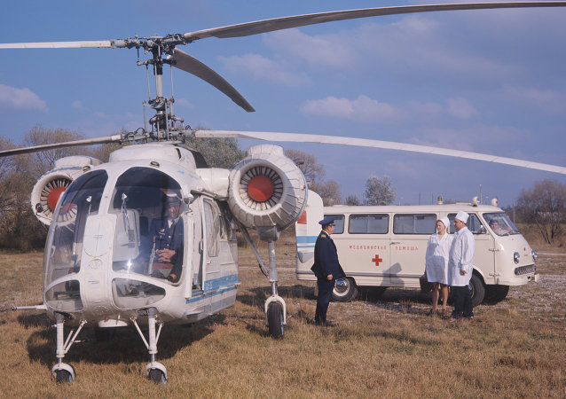 俄紧急情况部:一架医疗救护直升机在伊凡诺沃市硬着陆
