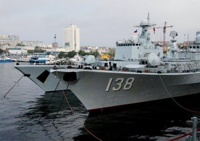 中俄海上联合军演不针对第三方