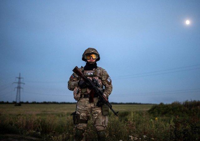 乌军称顿巴斯一日未出现炮击