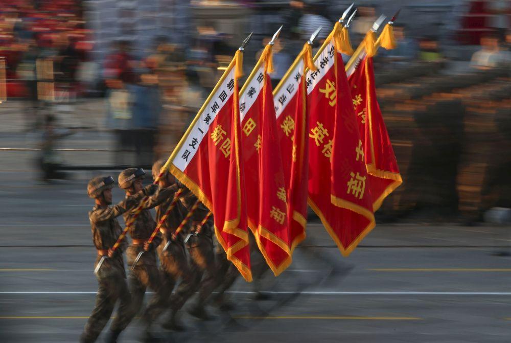 北京纪念二战胜利70周年大阅兵