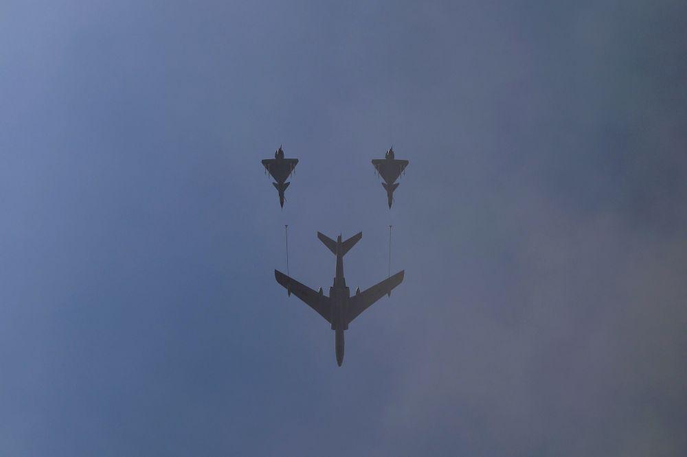 北京纪念二战胜利70周年阅兵式上的军机