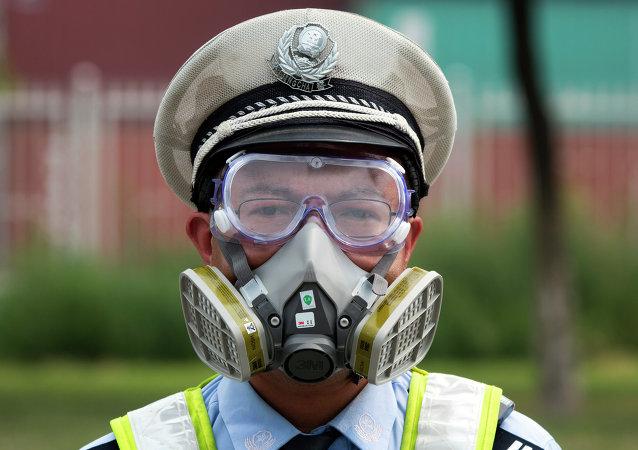 媒體:中國浙江一化工廠發生爆炸 現場燃燒物為甲醇