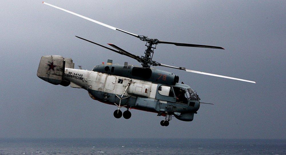 俄堪察加边疆区失事卡-27直升机机组人员很可能全部遇难