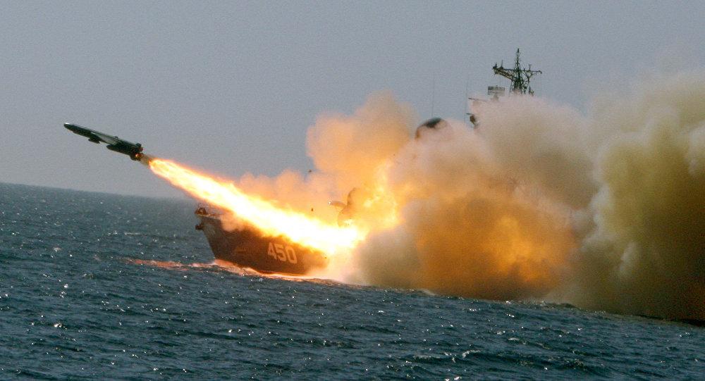 """第四艘装备有""""口径""""导弹的""""暴徒-M级导弹舰加入俄黑海舰队序列"""