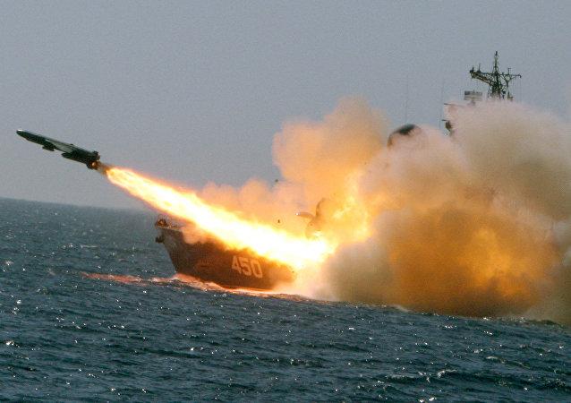 第四艘裝備有「口徑」導彈的「暴徒-M級導彈艦加入俄黑海艦隊序列