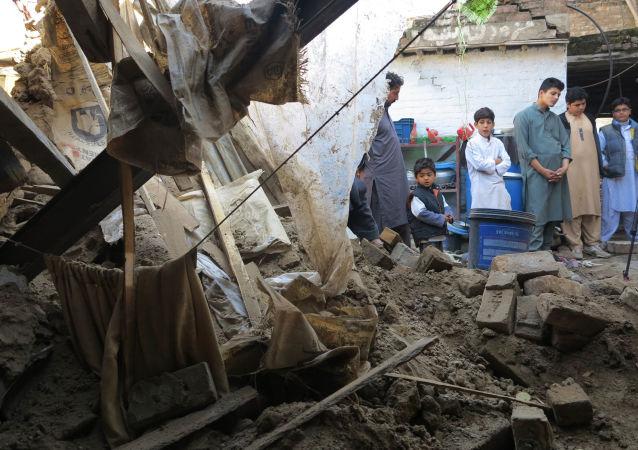 巴基斯坦地震(资料图片)