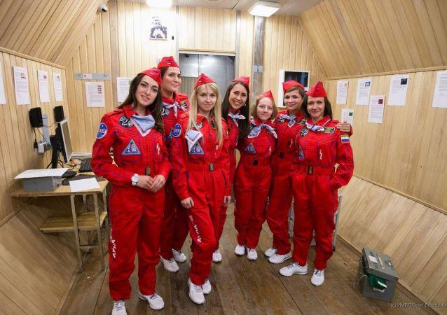 俄航天技術設備總公司出版一部關於女宇航員的漫畫