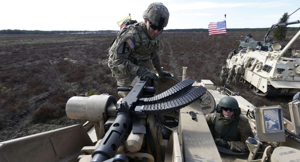 五角大樓:美國2017年將在東歐部署裝甲部隊