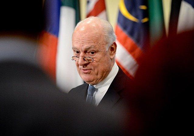联合国叙利亚问题特使:联合国准备在日内瓦召开叙各方会谈