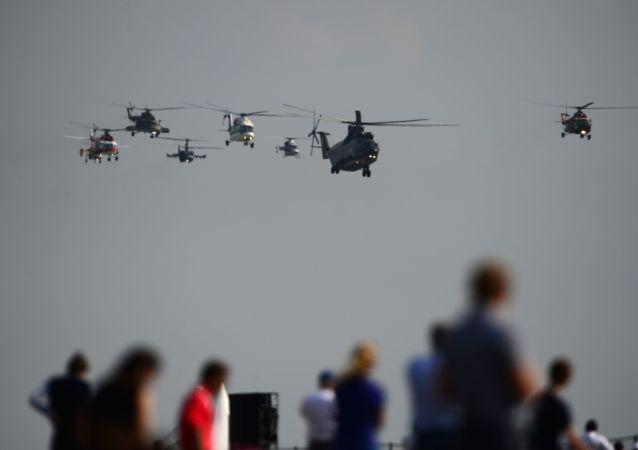 俄技術集團介紹在亞洲最受歡迎的俄攻擊直升機