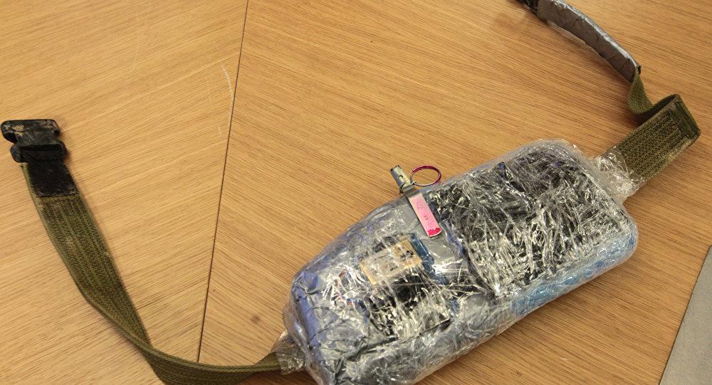 自殺式炸彈腰帶的儀器/資料圖片/