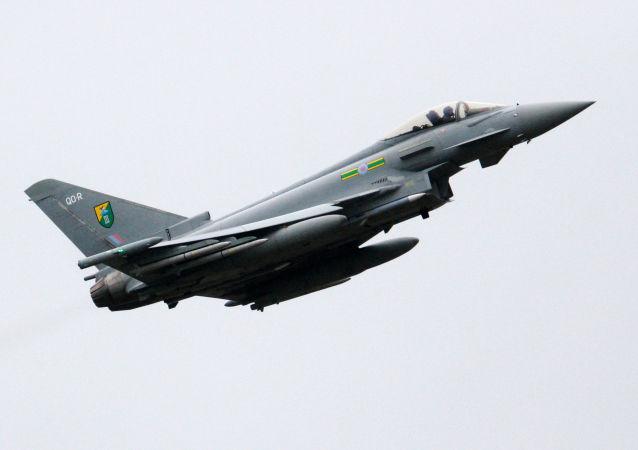 英国空军的台风歼击机