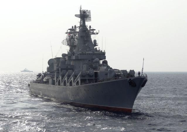 俄海軍常駐地中海編隊將增配兩艘一級艦