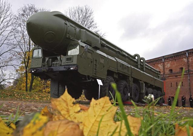 白杨-M洲际弹道导弹