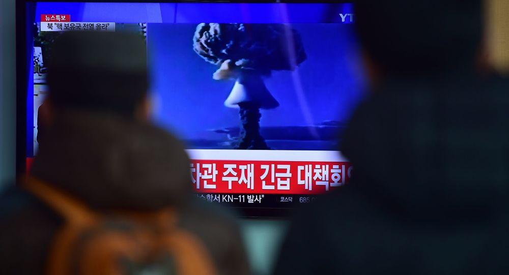 媒体:美推测朝鲜1月进行了氢弹部件试验
