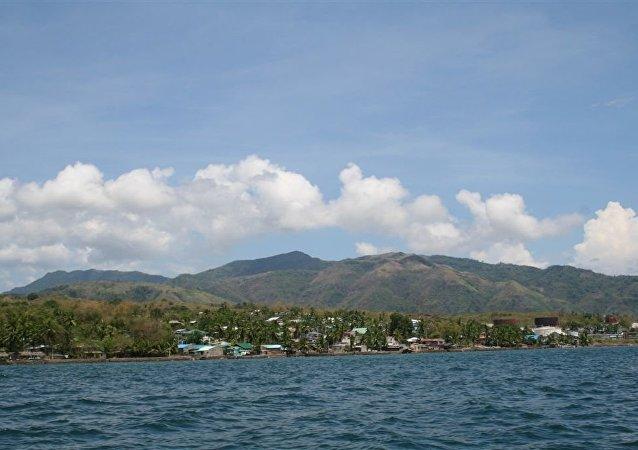 菲律宾海岸附近发生5.6级地震
