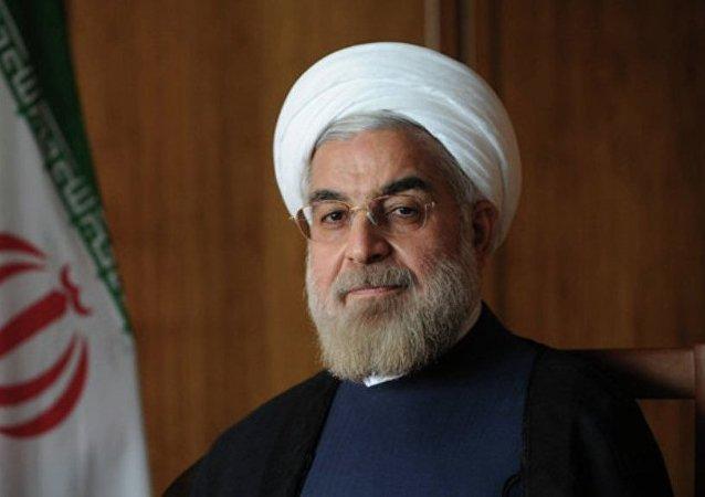 伊朗總統哈桑•魯哈尼