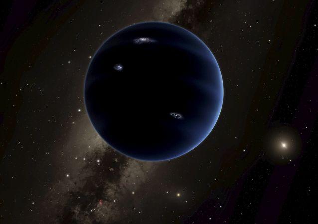 在太陽系發現一顆新行星